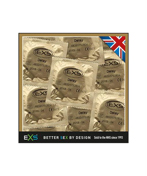 EXS Delay kestoa lisäävä kondomi